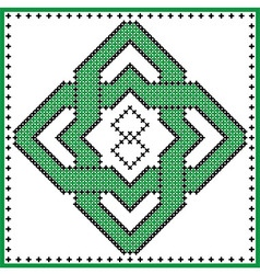 Celtic knot TYPE 4 vector image vector image