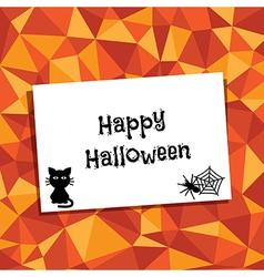 Halloween ornament vector