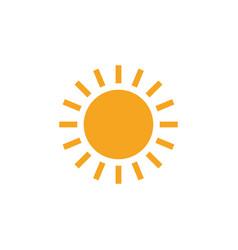sun clip art design isolated vector image