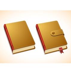 Notebook 2 vector image
