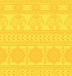 seamless pattern with asian ornament vector image vector image