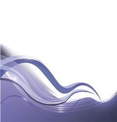 beautiful blue abstract background vector image