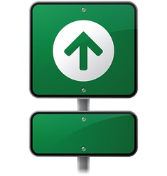 Growth Arrow Sign vector image vector image