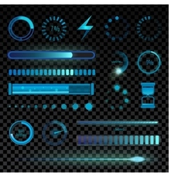 Interface icons set vector image