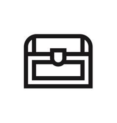 Chest icon vector