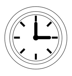 clock world time concept business daily icon vector image