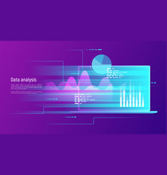 data analysis research audit planning vector image