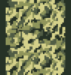 Digital fashionable camouflage seamless vector