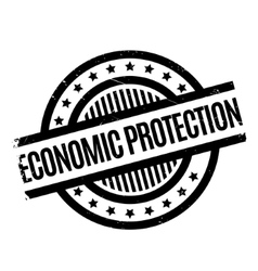 Economic Protection rubber stamp vector