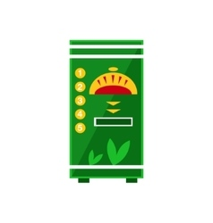 Hot Drinks Vending Machine Design vector