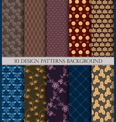 patternpattern fills web page backgroundsurface vector image