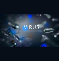 stock horizontal blue vector image