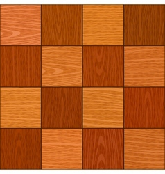 seamless oak square chess like parquet texture vector image vector image