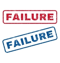 Failure Rubber Stamps vector image vector image