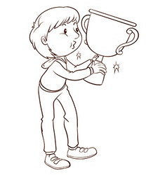 A simple plain sketch of a winner vector