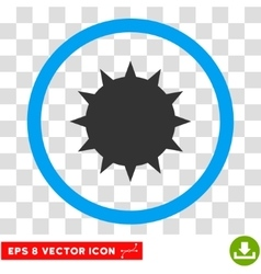 Bacterium Eps Rounded Icon vector