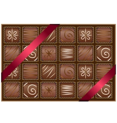 box of chocolates vector image