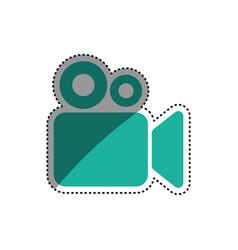 cinema camcorder symbol vector image