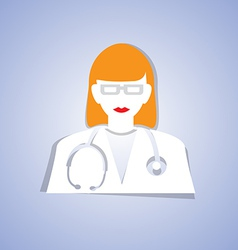 Medical doctor vector image