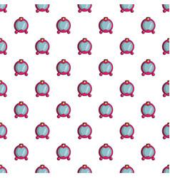 princess mirror pattern seamless vector image vector image