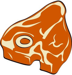 Steak vector image vector image