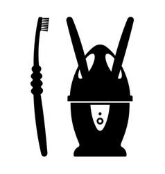 toothbrush sanitizer vector image
