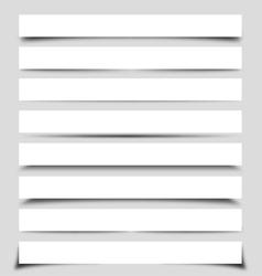 box shadows vector image