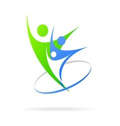 logo successful people vector image vector image