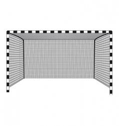 soccer gates vector image vector image