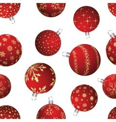 christmas frame seamless vector image vector image