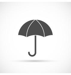 Umbrella icon on white vector image vector image