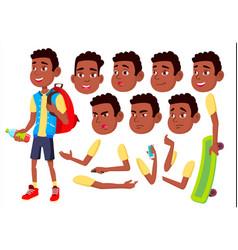 boy child kid teen happy childhood vector image