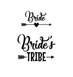 Bride tribe vector
