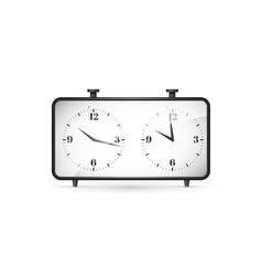 Chess clock vector
