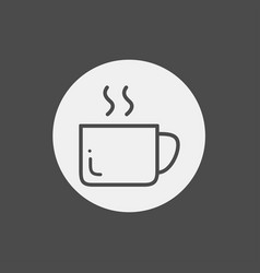 cup icon sign symbol vector image