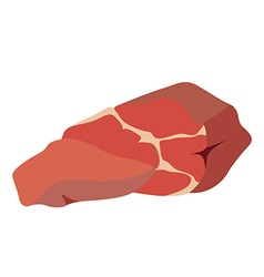 meat vector image