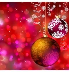 Merry christmas card EPS 8 vector