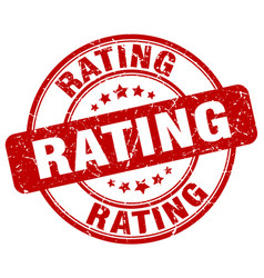 Rating stamp vector