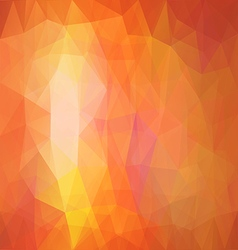 Rectangular Polygonal Background vector image