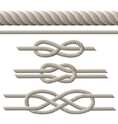 Rope set vector