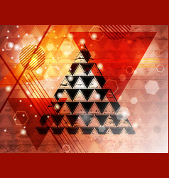triangle 15 vector image