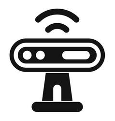 Web camera sensor icon simple style vector