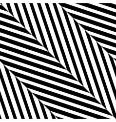 Black White Diagonal Stripe Seamless Pattern vector image vector image