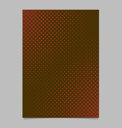 abstract halftone dot pattern page template vector image