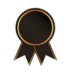 medal price award icon vector image