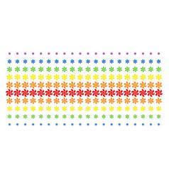 Rotor shape halftone spectrum pattern vector