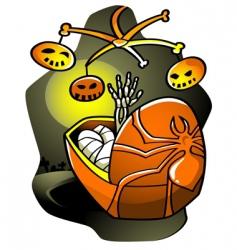 halloween lullaby vector image