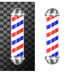 Classic barbershop pole vector
