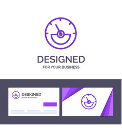Creative business card and logo template ampere vector