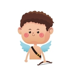 cupid cartoon icon vector image